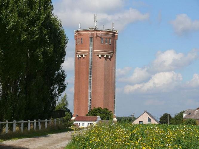 Château d'eau de Sart-Dames-Avelines.