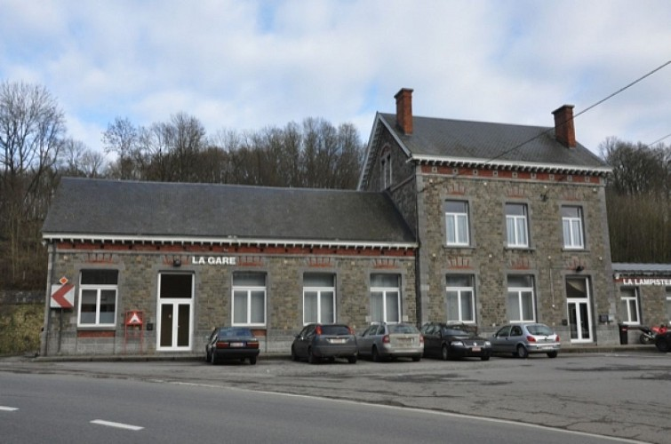 Gare de Spontin