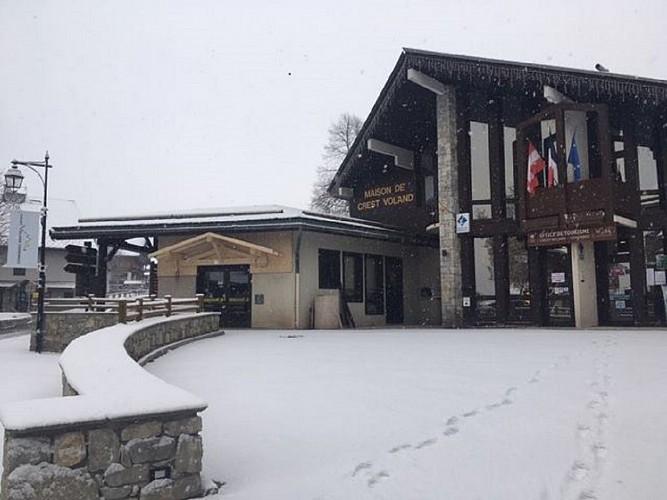 Fremdenverkehrsbüro von Val d'Arly - Büro von Crest-Voland Cohennoz