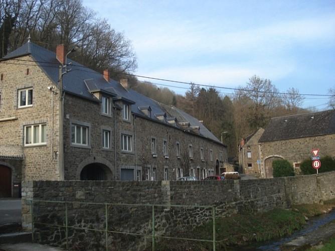 Ferme Oger, rue de Huy et Moulin