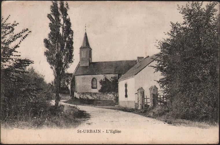 Eglise de Saint-Urbain
