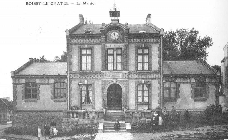 Mairie École de Boissy le Châtel