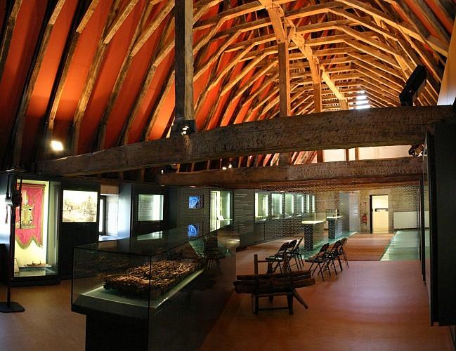 Musée d'Art et d'Histoire Romain Rolland, salle du flottage