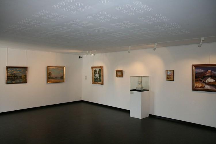 Musée d'Art et d'Histoire Romain Rolland, salle d'art contemporain