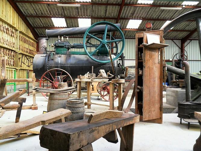 les métiers du bois - vue tonnelier