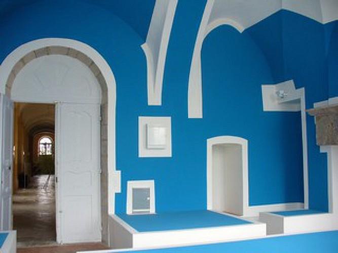 La pièce bleue de l'Abbaye de Corbigny