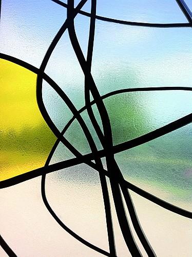 Les vitraux contemporains de Christopher Wool