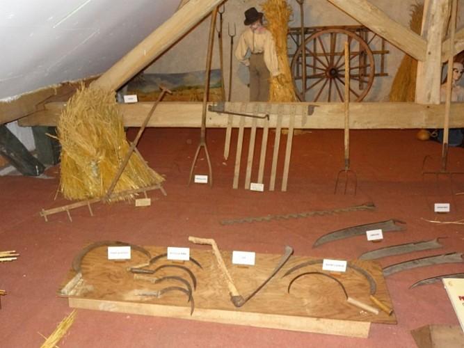 """Le musée paysan de la Bourgogne Nivernaise """"Ferme de Cadoux"""""""