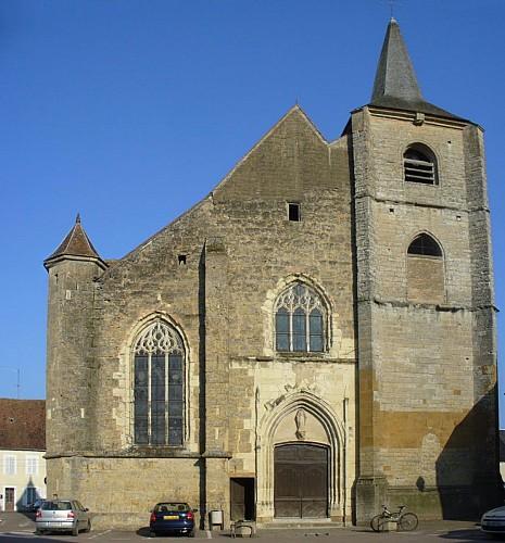 Eglise Saint-Seine à Corbigny