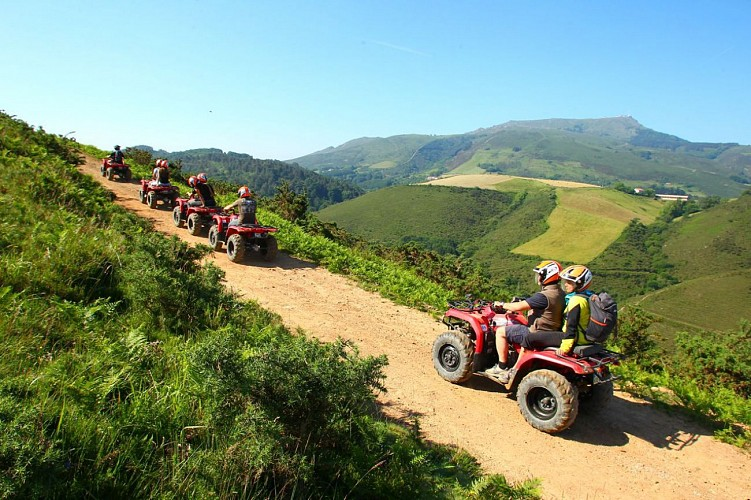 Parcourez le Pays Basque en Quad