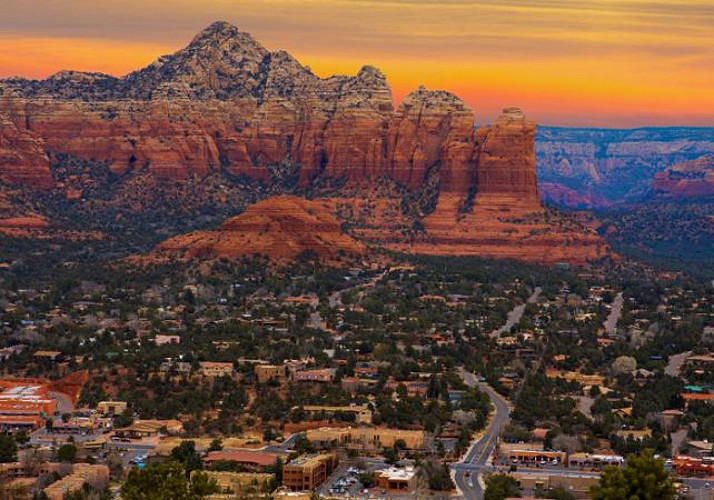 Flight over Sedona and Red Rocks – Departing from Phoenix