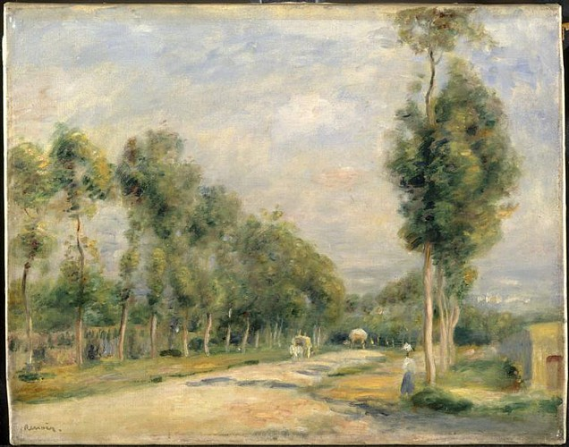 The road to Versailles. - Pierre-Auguste Renoir -1895 - Palais des Beaux-Arts - Lille