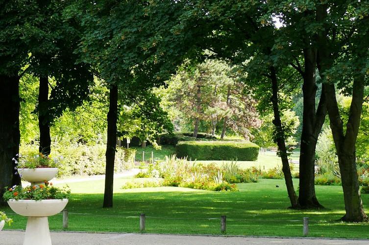 Le parc de la Légion d'Honneur