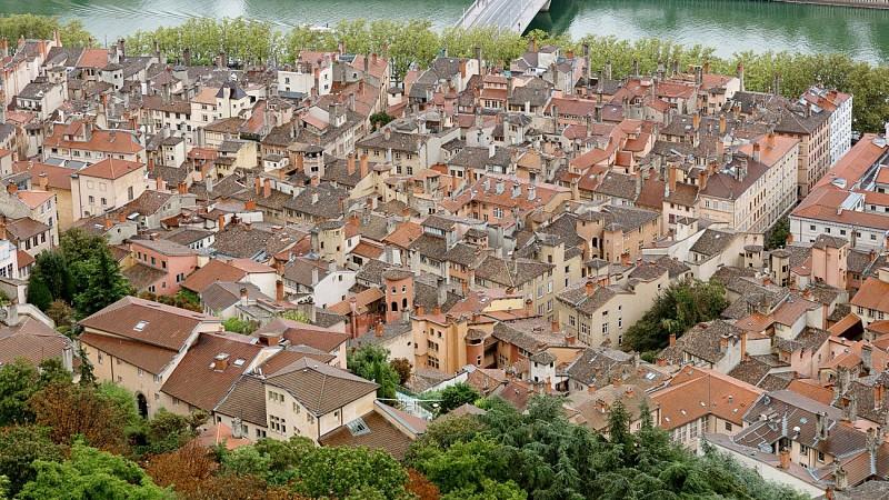 El barrio de Vieux-Lyon
