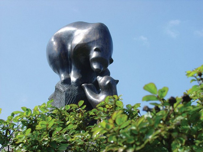 Statue Grande Ourse et petite ourse
