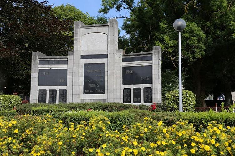 Place Joseph Wauters et monument commémoratif