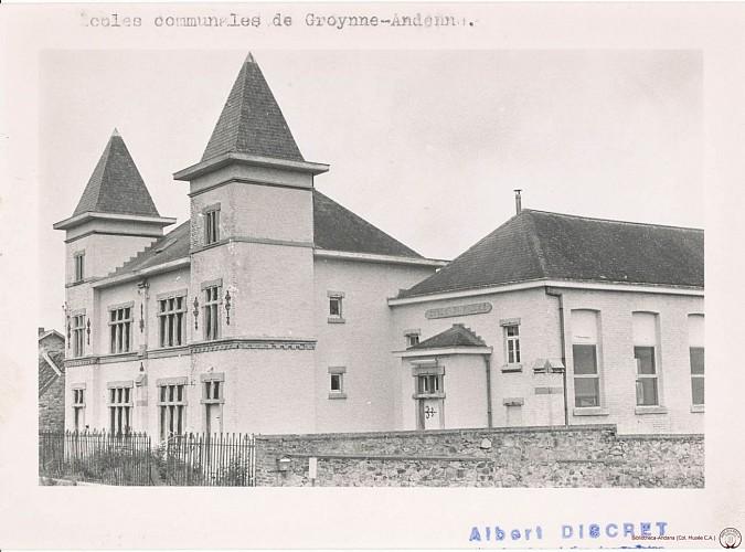 Oude gemeenteschool van Groynne