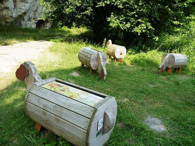 Montagne Saint-Pierre - réserve moutons ludiques