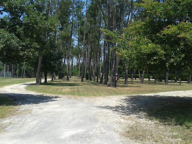 aire de camping cars de Nauton