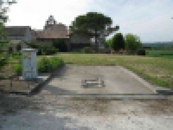 Aire camping car Monteton