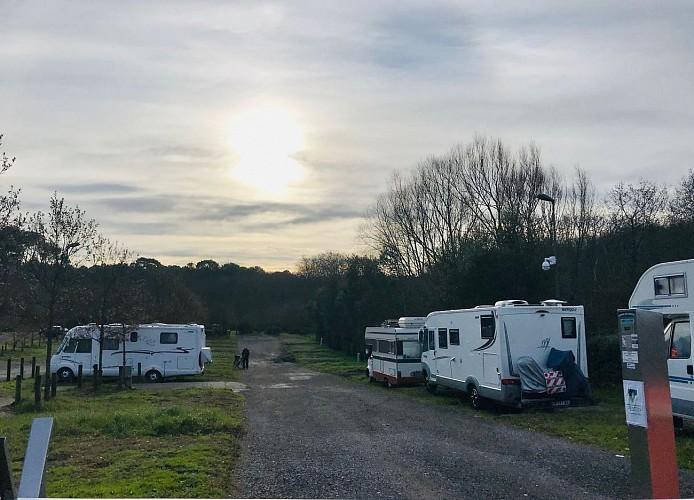 Aire de camping cars de Biarritz-Bidart5