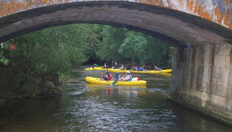 Brantôme canoe