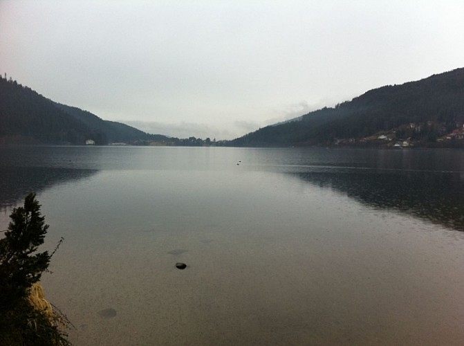 Autour du lac de Gérardmer