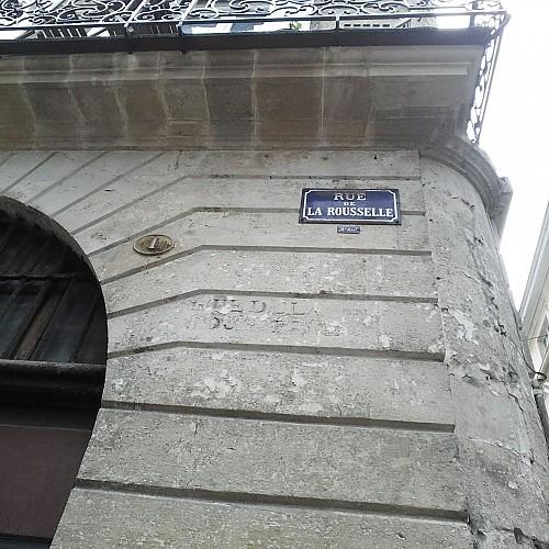 Carrèira de la Rossela / Rue de la Rousselle