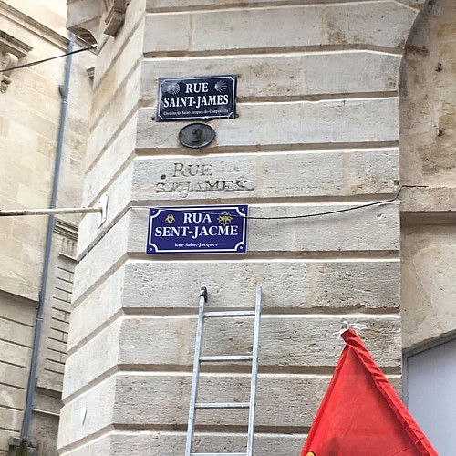 Carrèira Sent Jacme /Rue St James