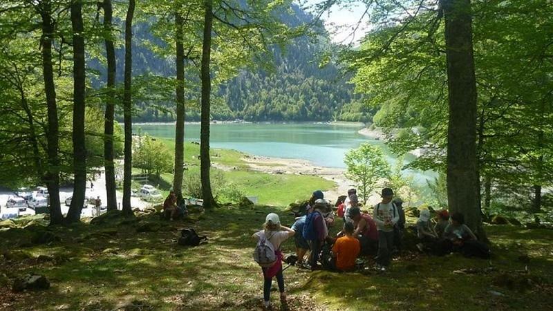 Cotelette Thomas photo Randonnée bord du lac