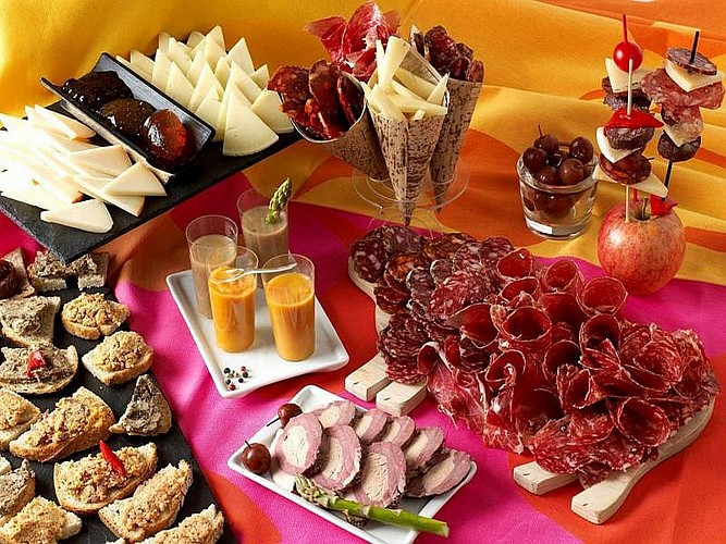 Salaisons Oteiza - buffet