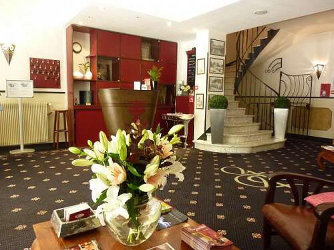 hotel de france reception