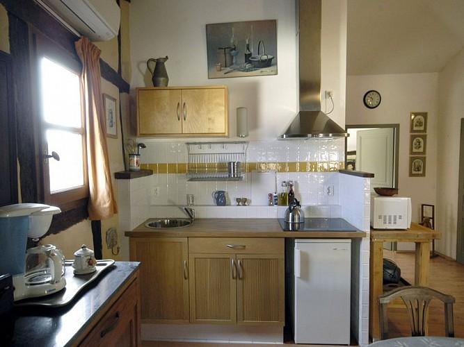 Ancien relais de poste - Appartement Margot - Cuisine
