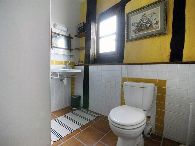 Ancien relais de poste - Appartement Margot - Salle de bains