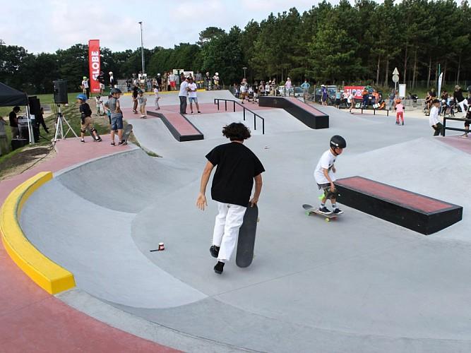 Skate park seignosse