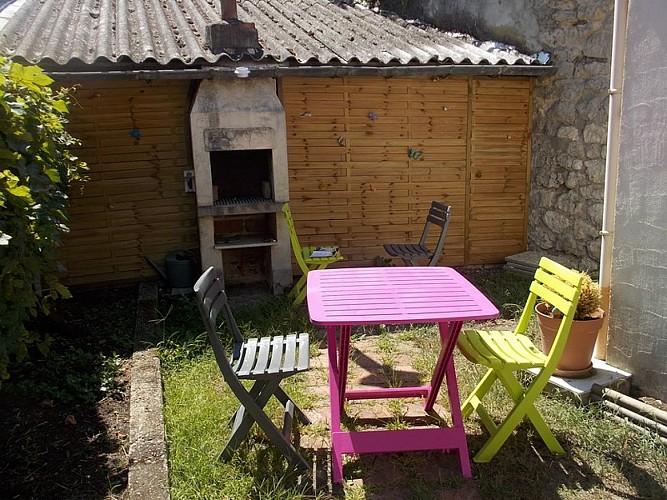 Meublé Soubaigné - Salon de jardin