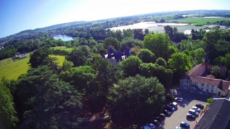 Parc du Château Marith - Vue aérienne - ©Château Marith