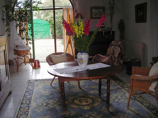 Chambre maison sabat monein 5