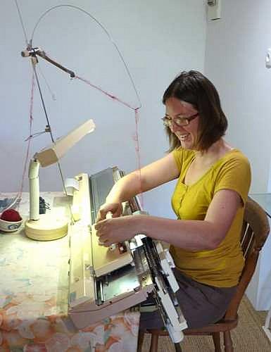 la machine à tricoter