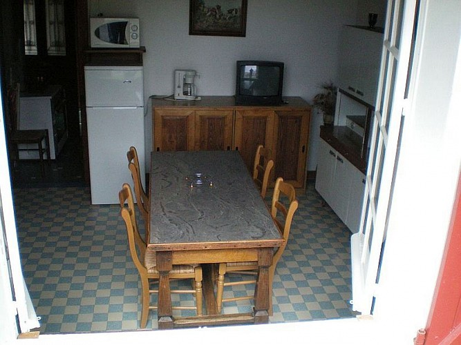 Maison Etchegaray cuisine - Osses