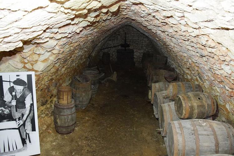 Château de Barrière cave