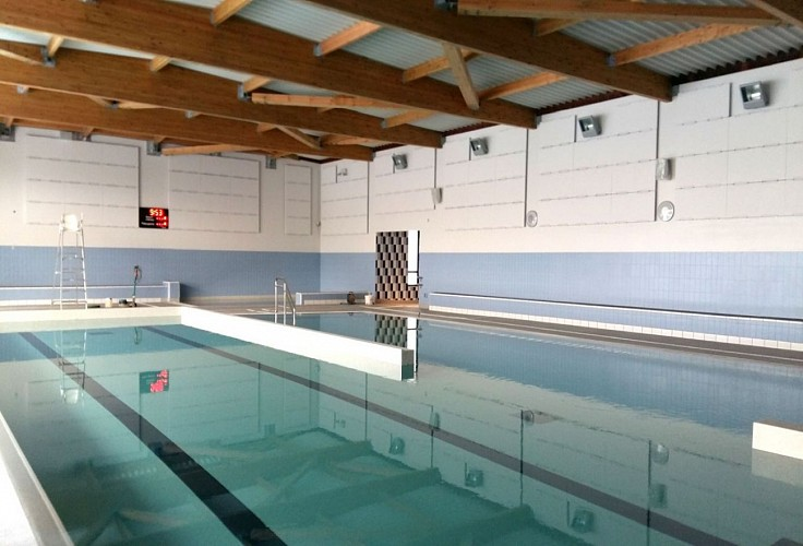 Centre aqualudique piscine Saint Jean Pied de Port - bassin intérieur