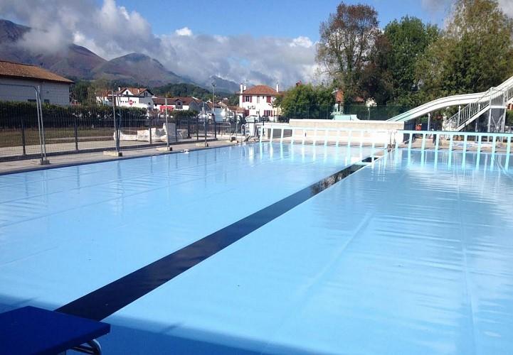 Centre aqualudique piscine Saint Jean Pied de Port - bassin