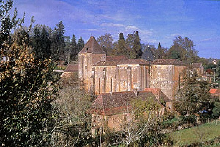 Paunat - Eglise abbatiale Notre-Dame