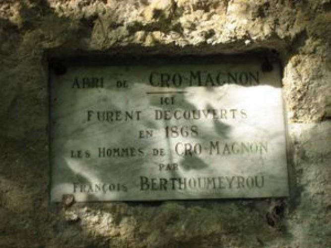 Les Eyzies - Abri de Cro-Magnon 1