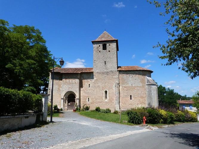 Eglise de Bourg du Bost (1)