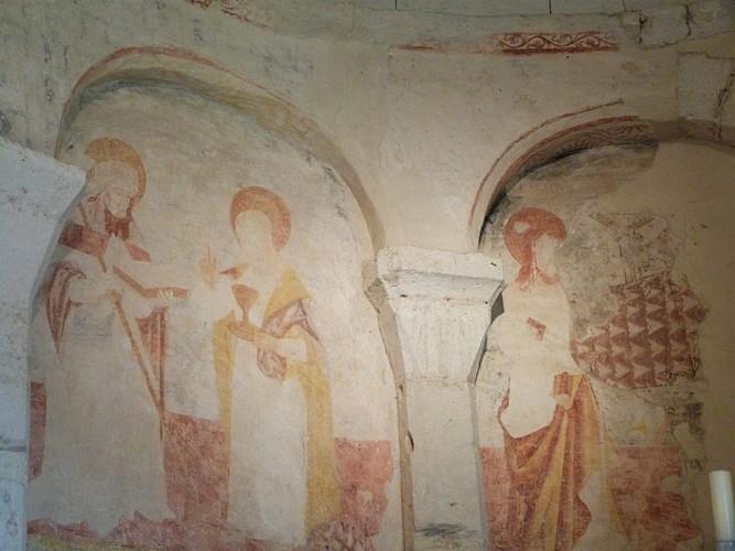 Eglise de Bourg du Bost (2)
