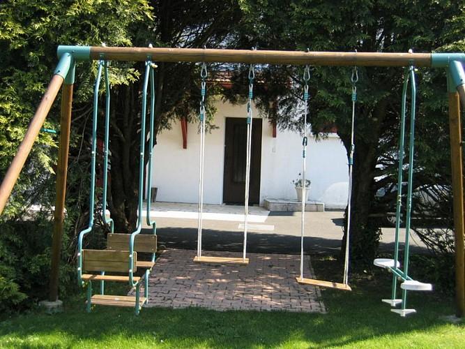 Etchegaray jardin-balançoires