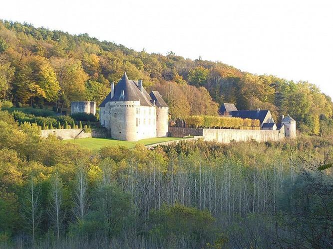 Le Lardin Saint Lazare - Jardins du manoir de Peyraux