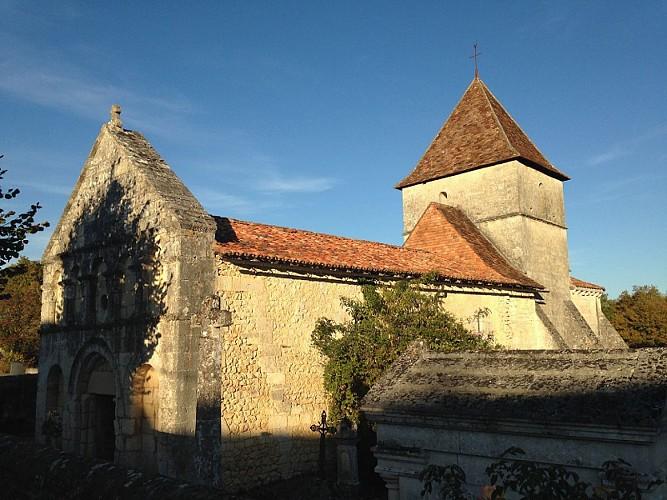 Eglise de Boulouneix extérieur